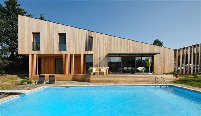 Les maisons en bois de plus en plus tendance renovation et decoration - Les plus belles maisons en bois ...