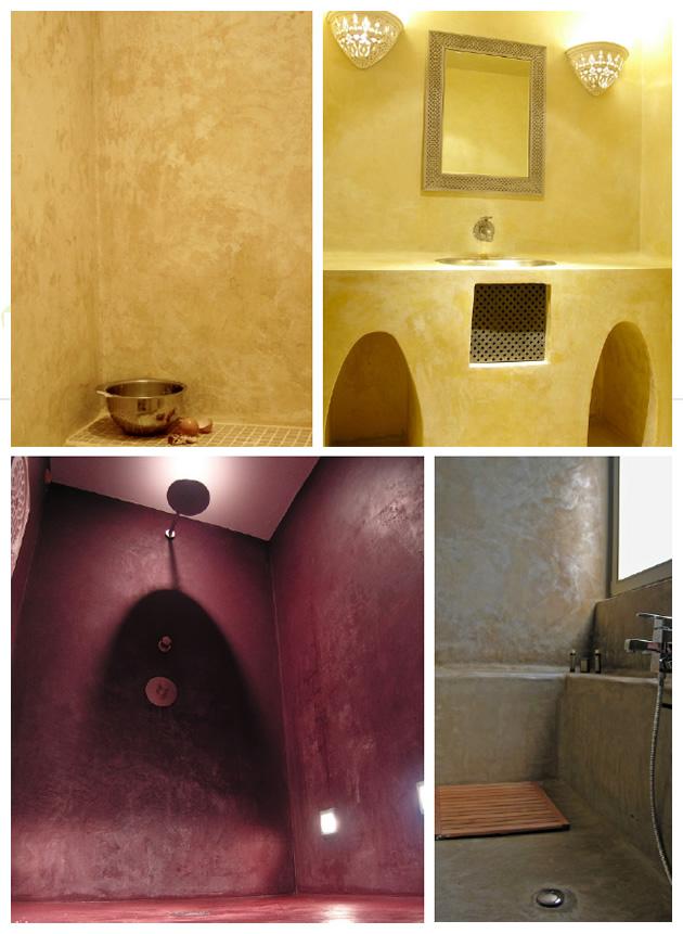 Peinture appliquer du tadelakt renovation et decoration - Peindre sur du tadelakt ...