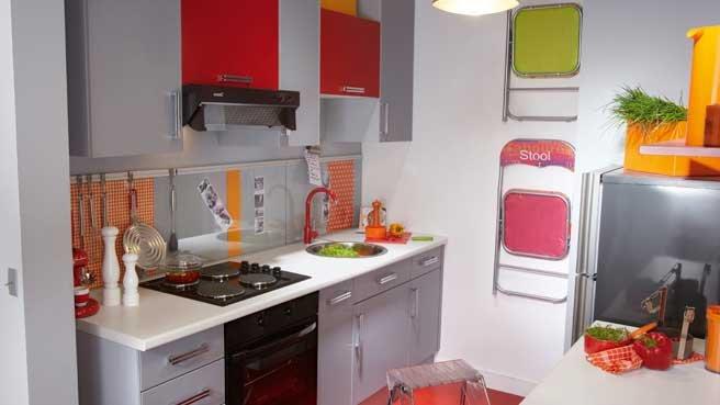 Plein d id es pour une petite cuisine fonctionnelle for Petite cuisine pratique et fonctionnelle
