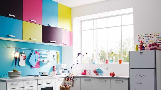 Plein d id es pour une petite cuisine fonctionnelle renovation et decoration for Placards cuisine