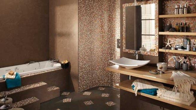 Choisir un style de douche renovation et decoration - Pose carrelage mosaique salle de bain ...