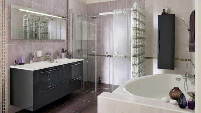 Choisir un style de douche renovation et decoration - Castorama salle de bains 3d ...