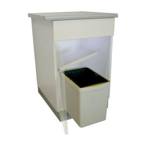Des poubelles encastrables pour vos meubles de cuisine for Habitat poubelle cuisine