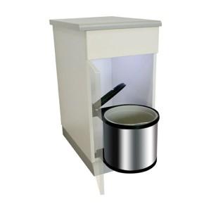 des poubelles encastrables pour vos meubles de cuisine ... - Meuble Cache Poubelle Cuisine