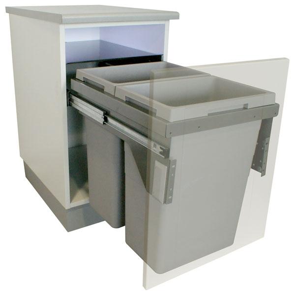 Des poubelles encastrables pour vos meubles de cuisine ...