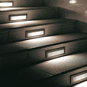 Eclairage D Escalier Escaliers Inspiration Dco Lampes Galerie - Eclairage marche escalier exterieur