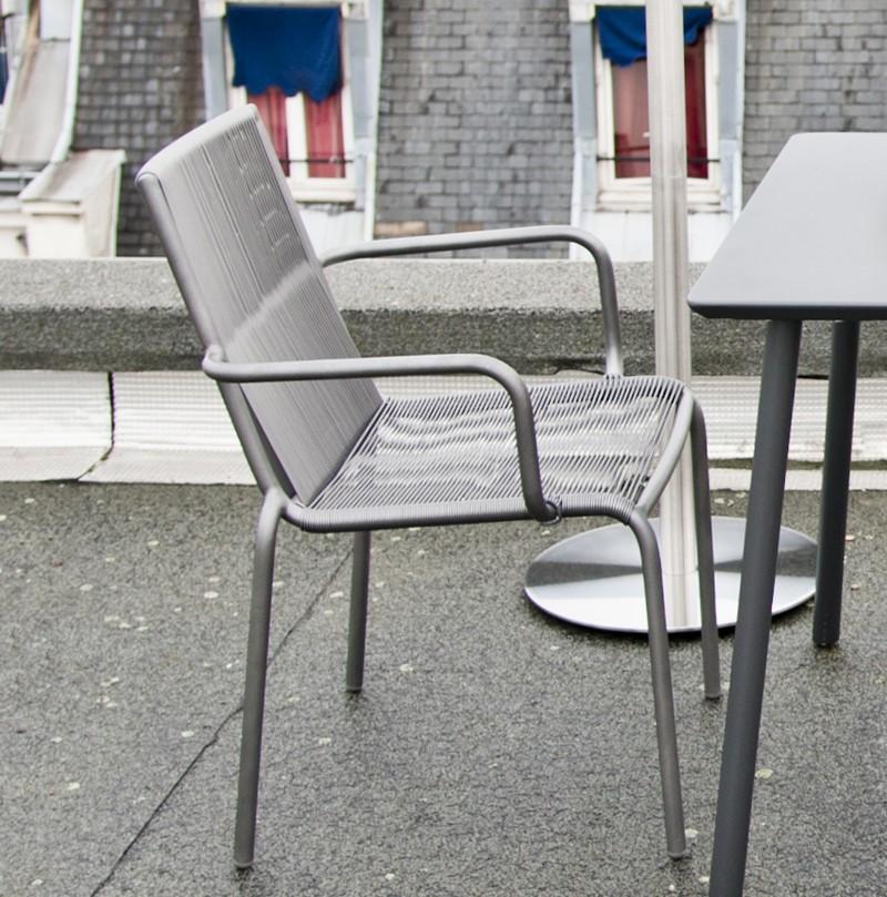 Id es d co design et pratique pour espaces ext rieurs - Chaise de jardin aluminium ...