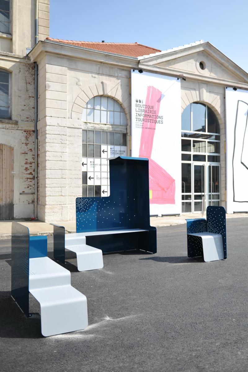 Du mobilier urbain design tester renovation et decoration - Mobilier urbain design ...