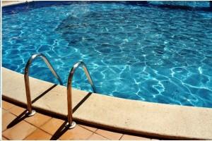 Volet déco piscine