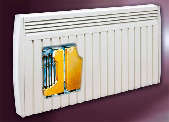 radiateur electrique a inertie - aterno