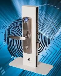 serrure design biométrique