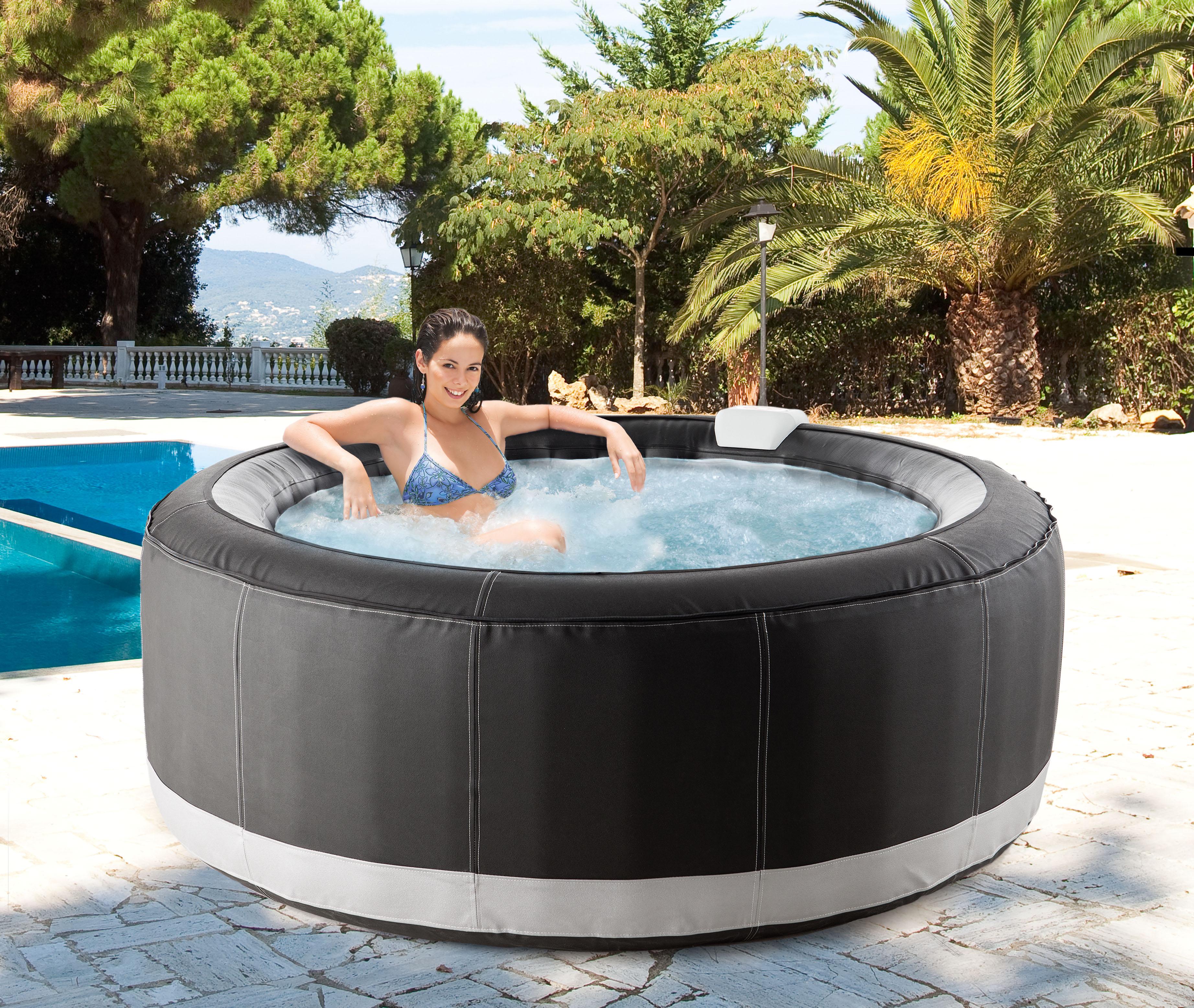 opter pour un spa gonflable pour votre ext rieur une bonne id e d co r novation et travaux. Black Bedroom Furniture Sets. Home Design Ideas