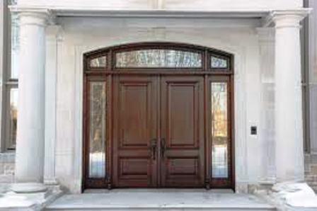 porte bois massif