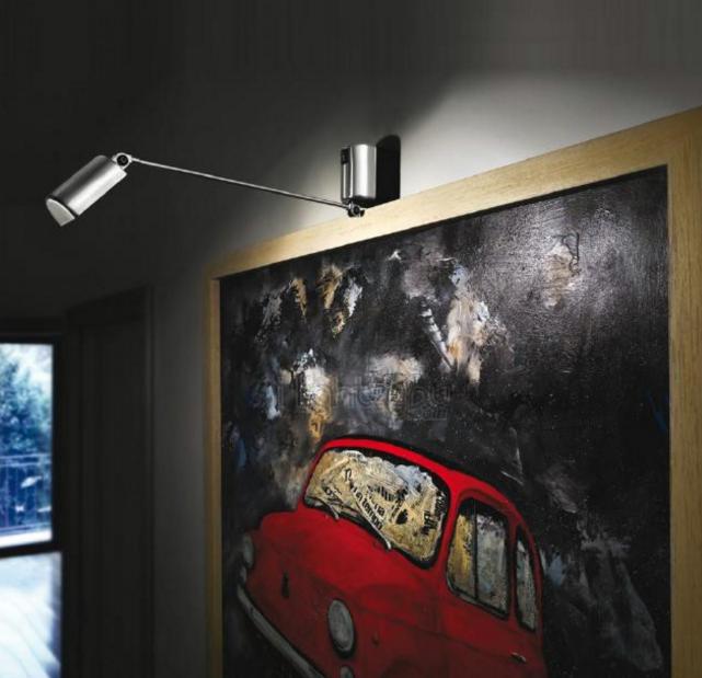 Sublimer ses toiles en lumi re avec les appliques - Travailler dans la decoration ...