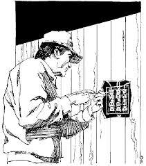 électricien-prise électrique
