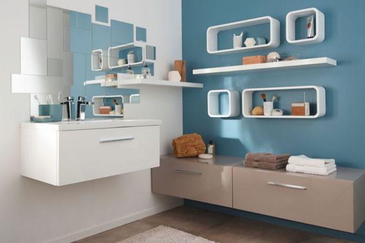Des salles de bains ultra design renovation et decoration - Etagere salle de bain design ...