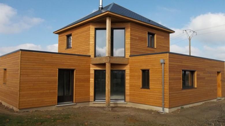construction j opte pour une maison avec une ossature bois r novation et d coration. Black Bedroom Furniture Sets. Home Design Ideas