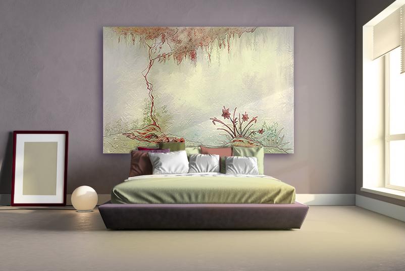 la t te de lit d co reine de la chambre r novation et d coration. Black Bedroom Furniture Sets. Home Design Ideas