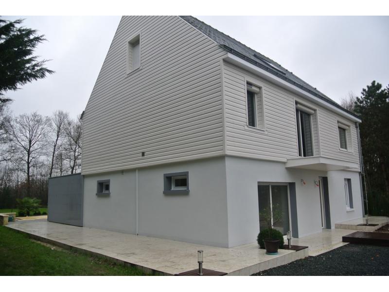 R novation de fa ade 5 id es de finitions pour plus de for Bardage de facade maison