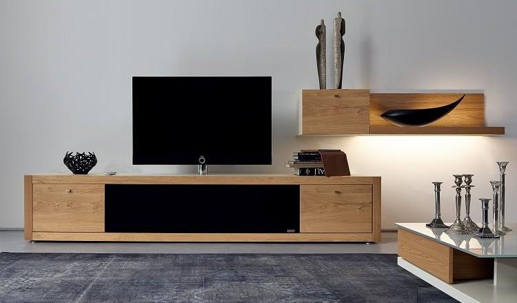 Un meuble TV design pour un coin ciné élégant – Renovation et ...