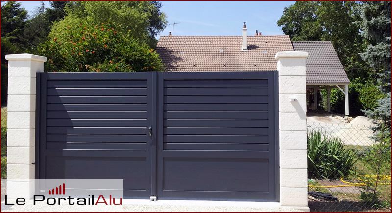 pourquoi choisir un portail en aluminium r novation et d coration. Black Bedroom Furniture Sets. Home Design Ideas