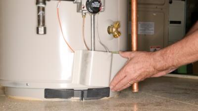 réparation de chauffe eau en fuite