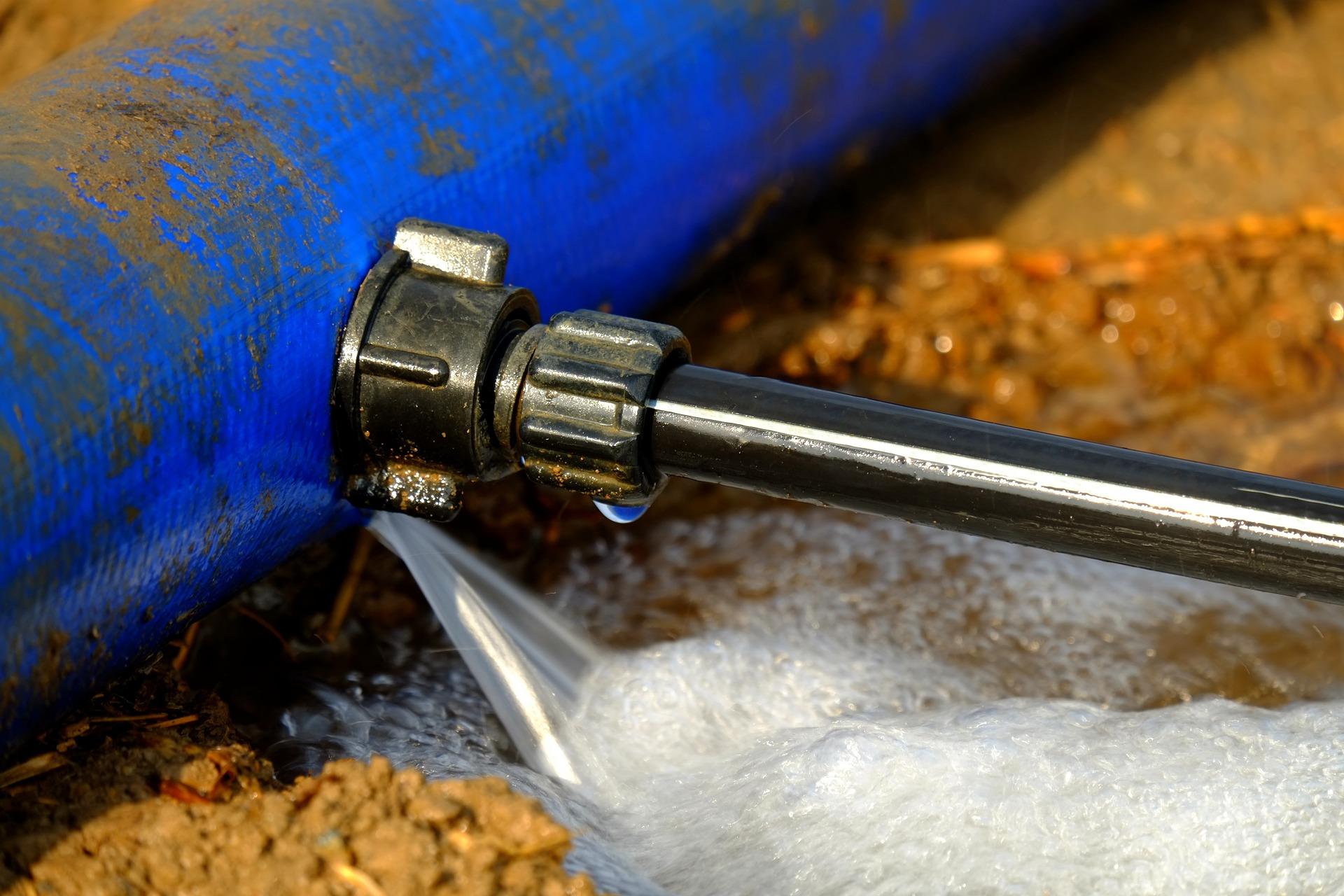 cas de fuite d'eau