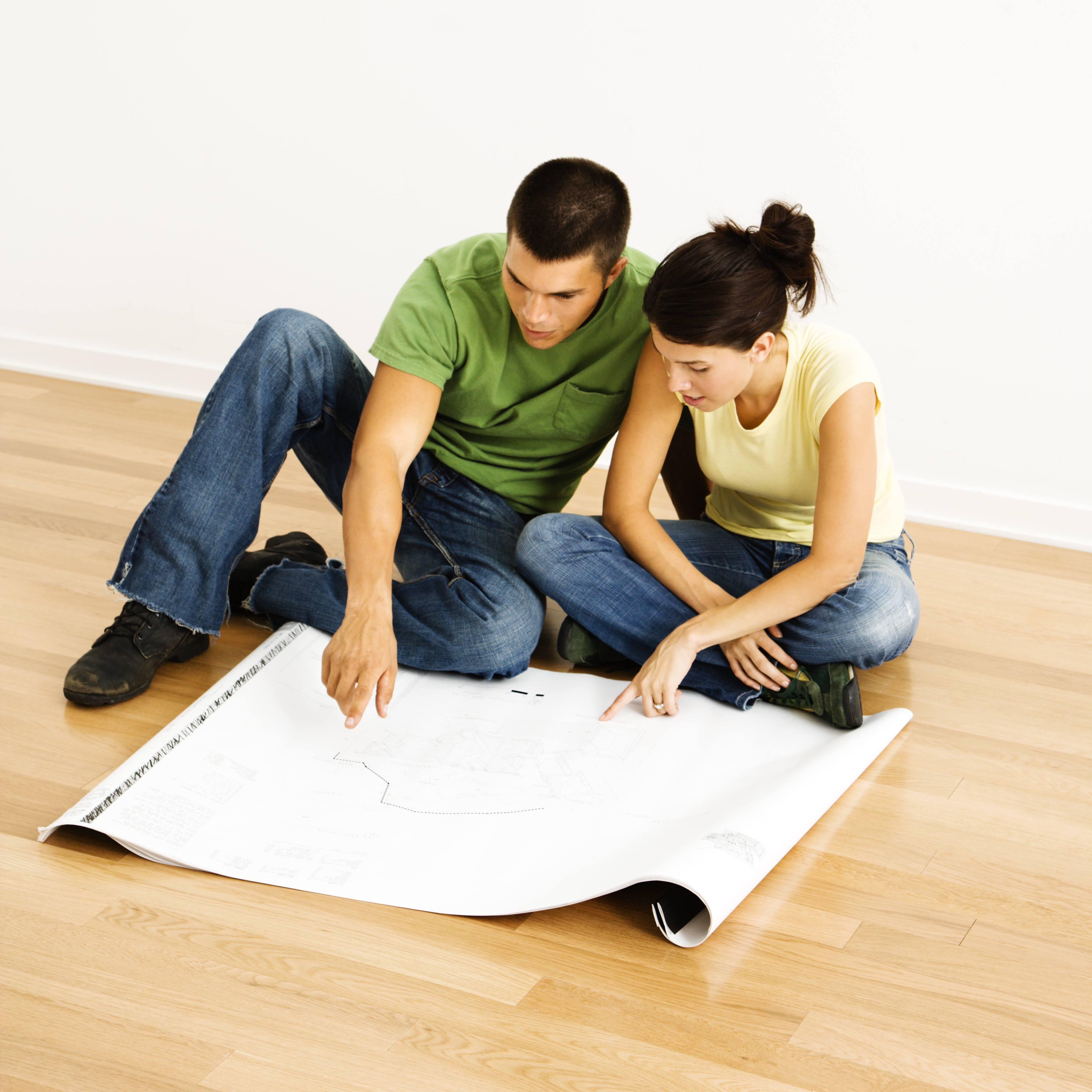 projet de rénovation par un couple