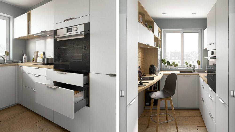 Les couleurs pour une petite cuisine - Rénovation et Décoration