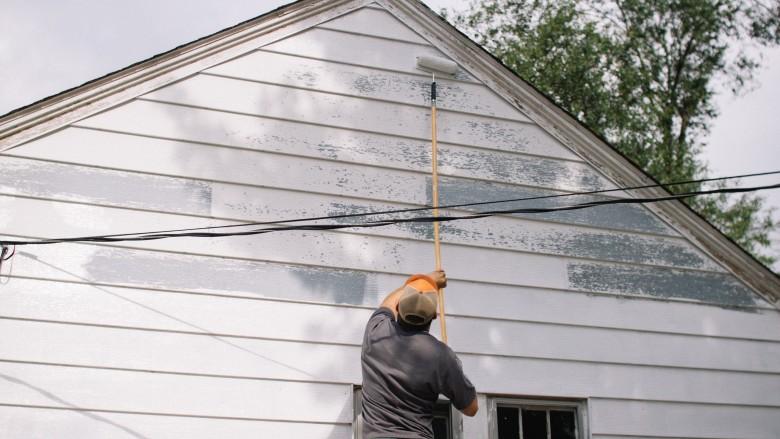 peinture d'une maison