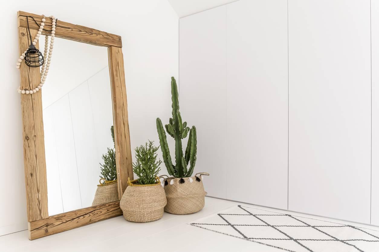 installation d'un miroir