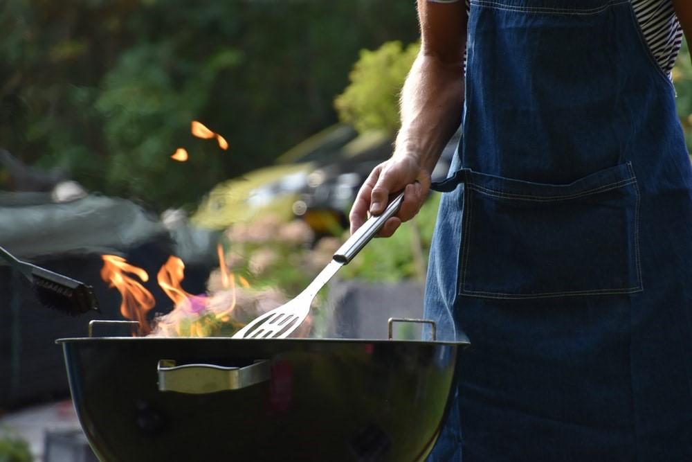 préparer barbecue