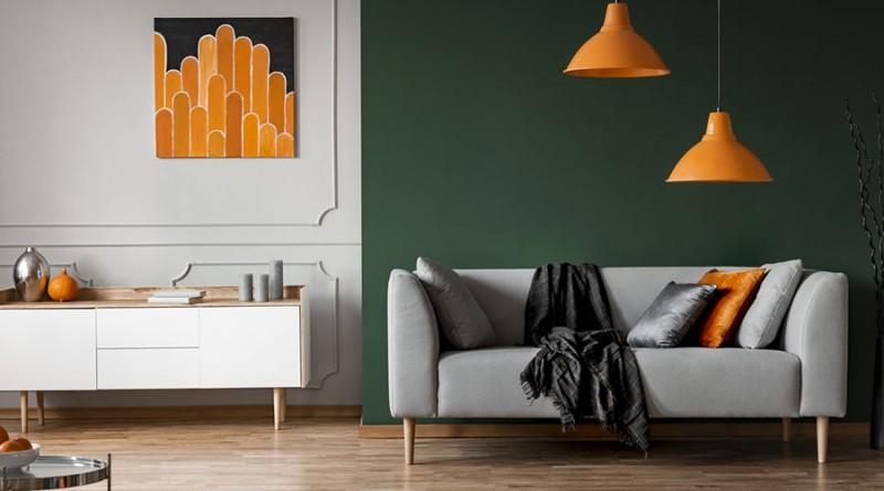 Les couleurs idéales pour repeindre son salon