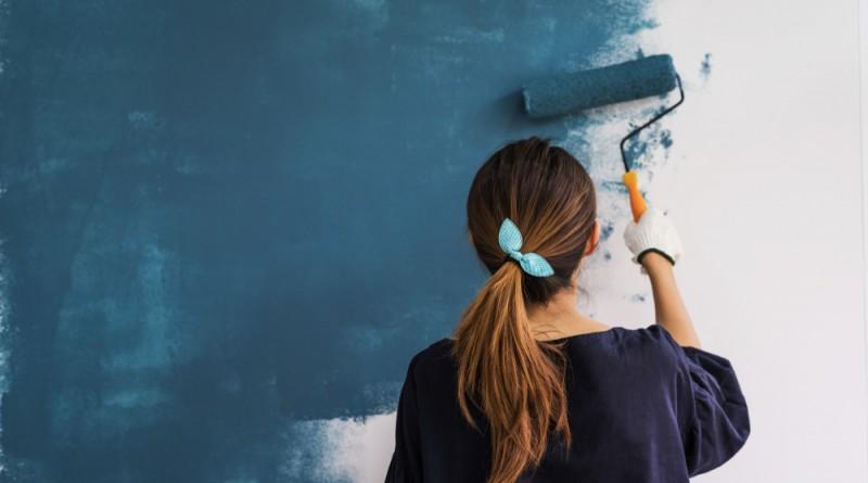 la peinture intérieure et l'harmonie des couleurs pour une déco parfaite