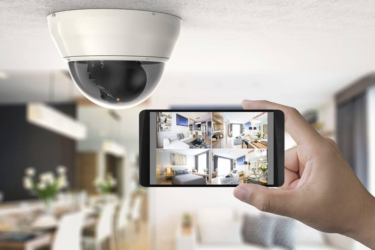 vidéo surveillance maison en chantier