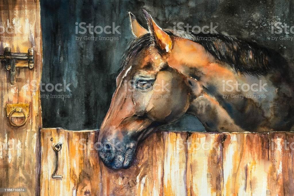 décoration chambre cheval