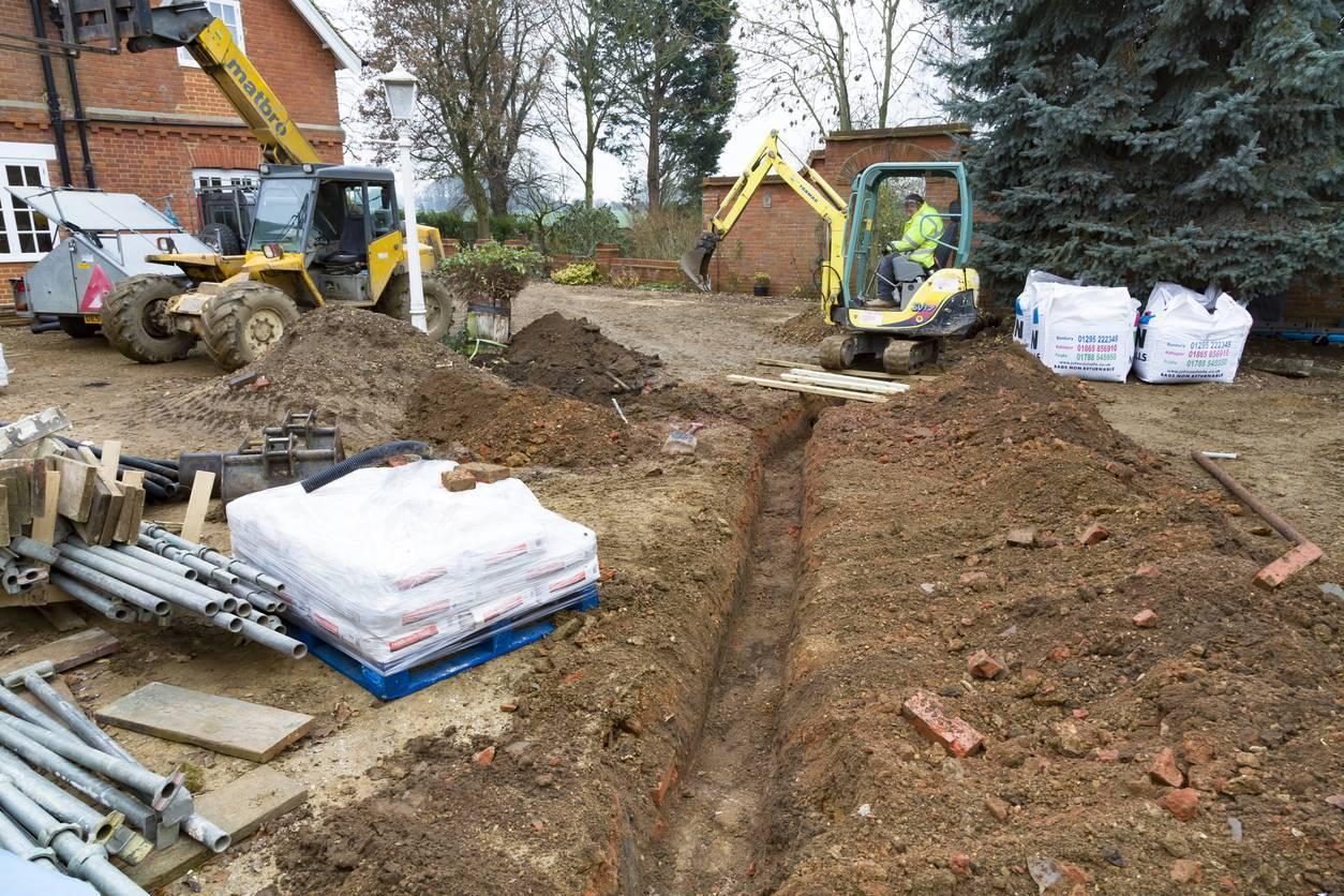 travaux terrassement